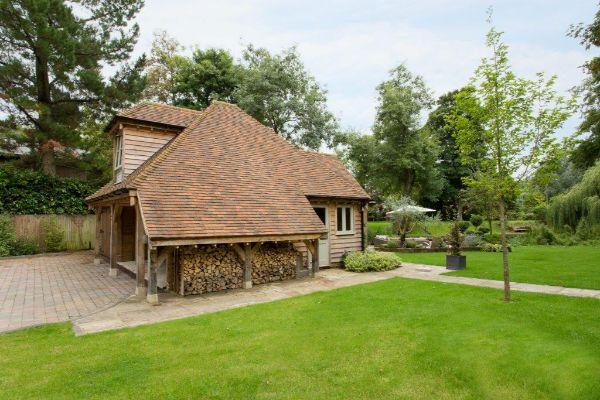 Bespoke Oak Frame Garden Room Extension