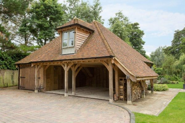 Bespoke Oak Frame Garden Room Extension1