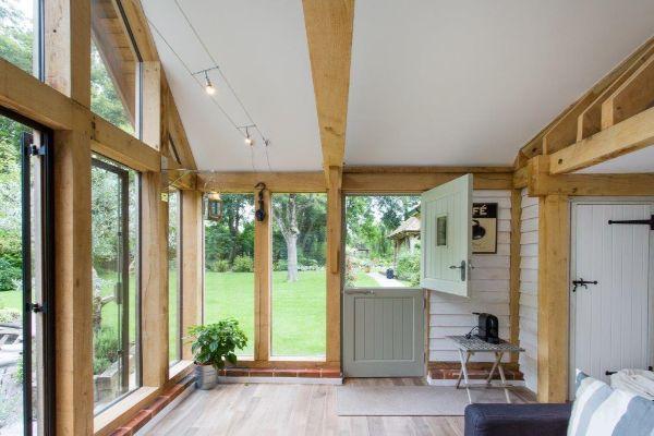 Bespoke Oak Frame Garden Room Extension2