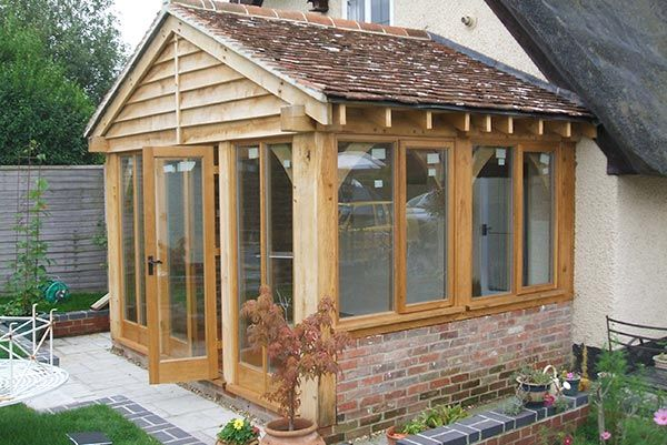 Oak Enclosed Porch