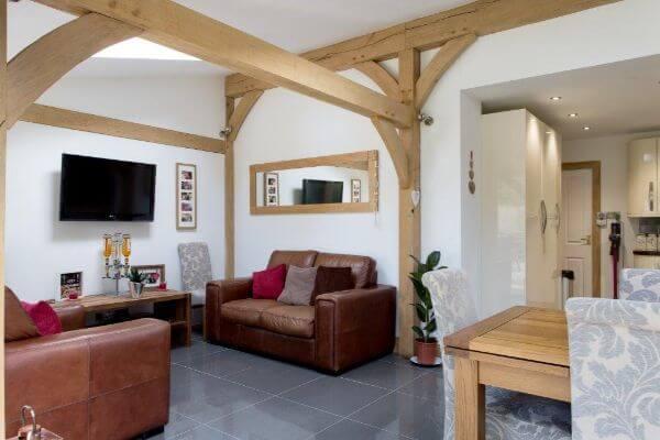 Oak Extension Family Room