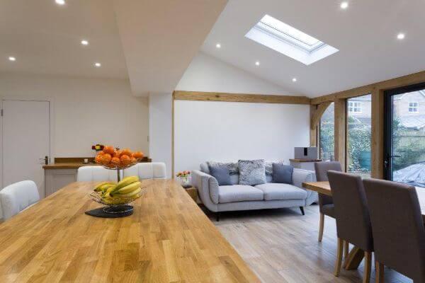 Oak Frame Garden Room Extension
