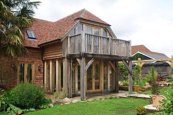 Oak Framed Balcony