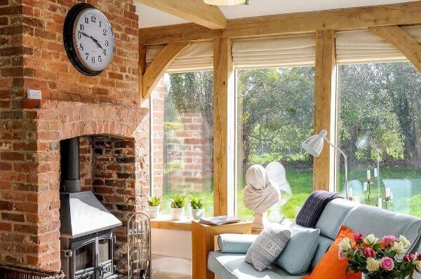 Oak Framed Extension Interior
