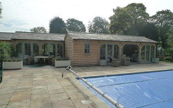 Oak Pool House and Gym