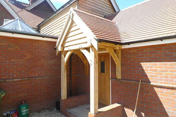 Oak Rear Porch